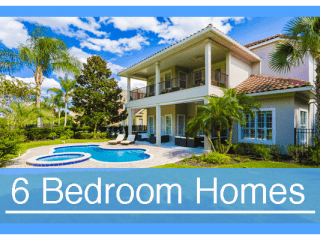6 Bedroom Vacation Homes