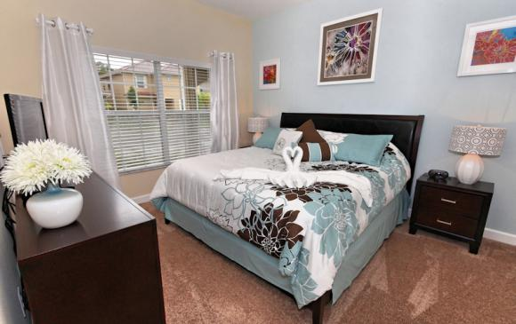 Bedroom 4 - 4 Bedroom Paradise Palms Townhome - Minnie's Cottage - Homes4uu