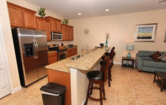 kitchen 2 - 4 Bedroom Paradise Palms Townhome - Minnie's Cottage - Homes4uu