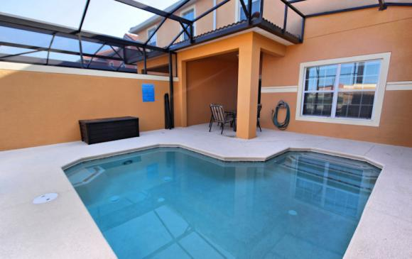 Private Pool 2 - 4 Bedroom Paradise Palms Townhome - Minnie's Cottage - Homes4uu
