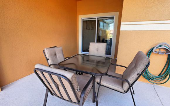 Patio - 4 Bedroom Paradise Palms Townhome - Minnie's Cottage - Homes4uu