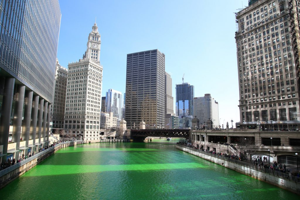 Green River in Chicago