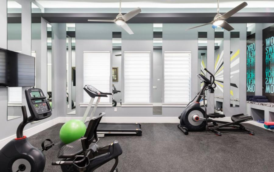 Fitness Room - Royal Fortune - 12 Bedroom Vacation Home - Homes4uu