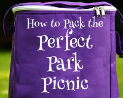 How to Pack the Perfect Park Picnic