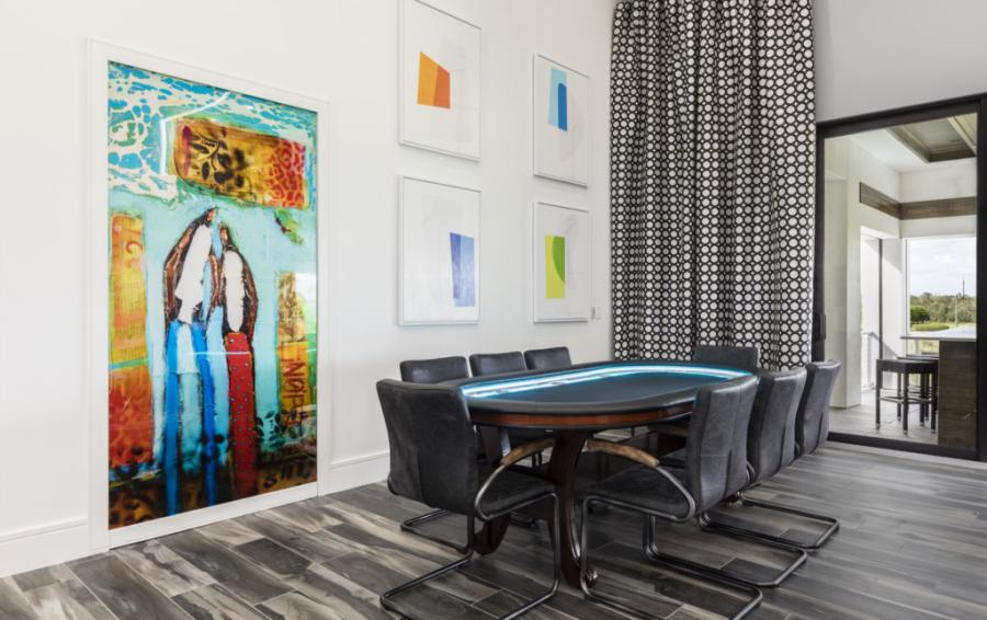 Loft - Poker Table - Royal Fortune - 12 Bedroom Vacation Home - Homes4uu