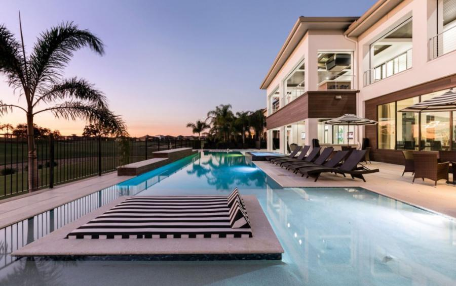 Pool and Lay Out Zone - Royal Fortune - 12 Bedroom Vacation Home - Homes4uu