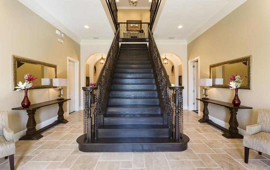 Foyer -Grand Staircase - Prince Royale - 11 Bedroom Vacation Home - Homes4uu