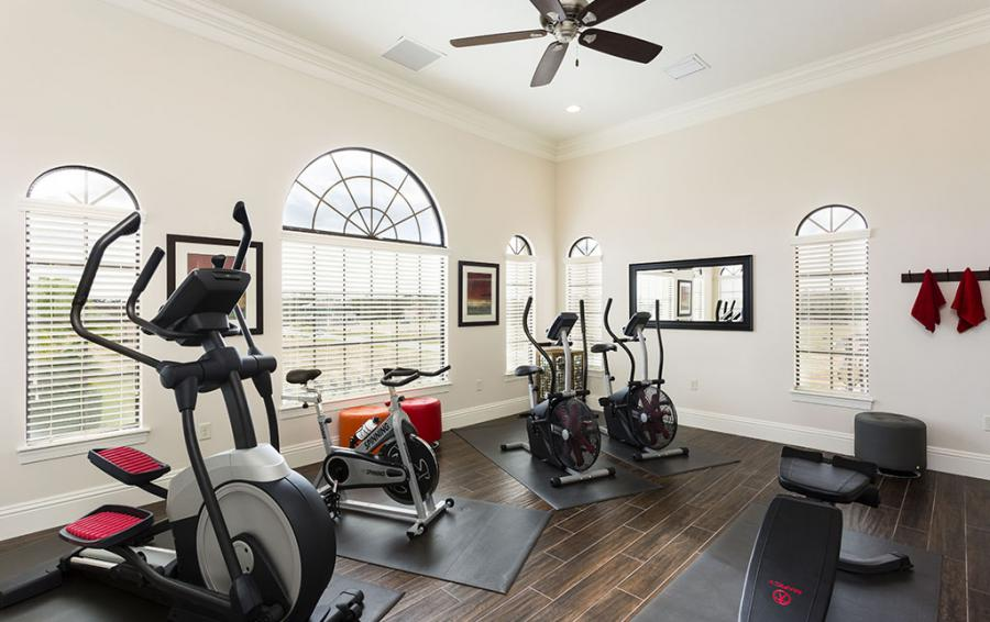 Gym-1- multiple exercize machines - Prince Royal - 11 Bedroom Vacation Home - Homes4uu