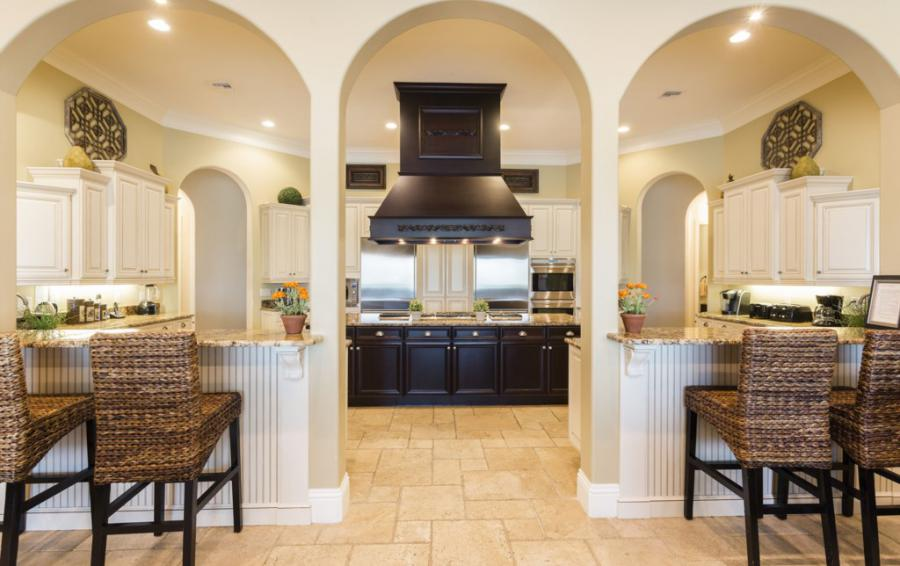 Kitchen-1- Double Islands - Prince Royale - 11 Bedroom Vacation Home - Homes4uu