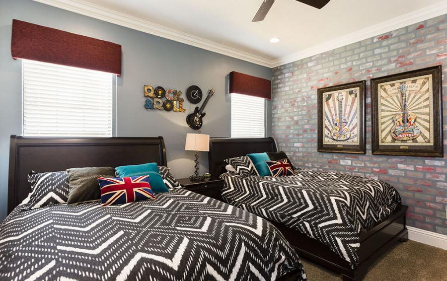 Bedroom 8-Two Queen Beds Teen Zone - Prince Royal - 11 Bedroom Vacation Home - Homes4uu