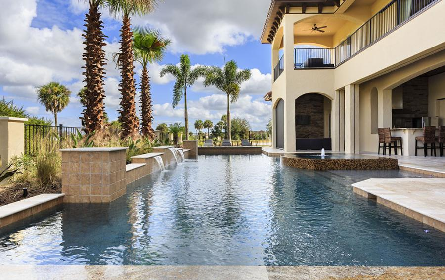 Pool-2- Water Features - Prince Royal - 11 Bedroom Vacation Home - Homes4uu