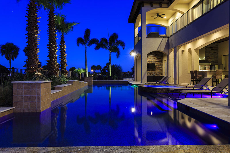 Pool Twilight 3 - Prince Royal - 11 Bedroom Vacation Home - Homes4uu