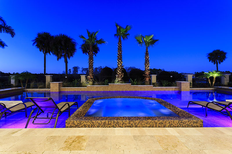 Pool Twilight 4- Prince Royal - 11 Bedroom Vacation Home - Homes4uu