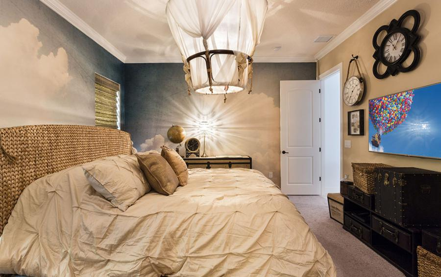 Bedroom 1 Hot Air Balloon Room - Cast Away - 5 Bedroom Themed Vacation Home - Homes4uu