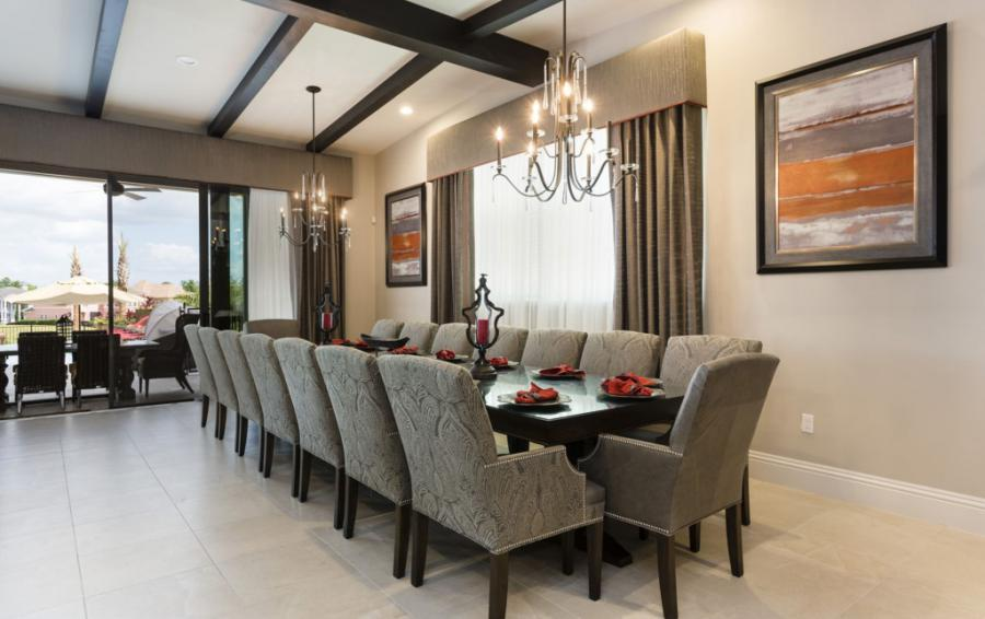 Dining Area Table for sixteen - Treasure Hunt - 8 Bedroom Hidden Mickey Vacation Home - Homes4uu