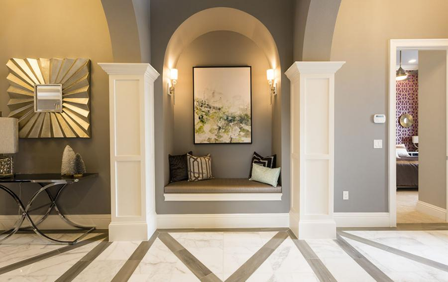 Foyer Arch Cove Seating - Sea Chest - 7 Bedroom Manor with Private Pool - Homes4uu