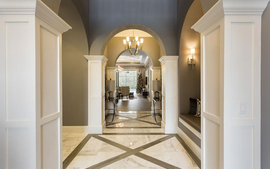 Foyer - Sea Chest - 7 Bedroom Manor with Private Pool - Homes4uu