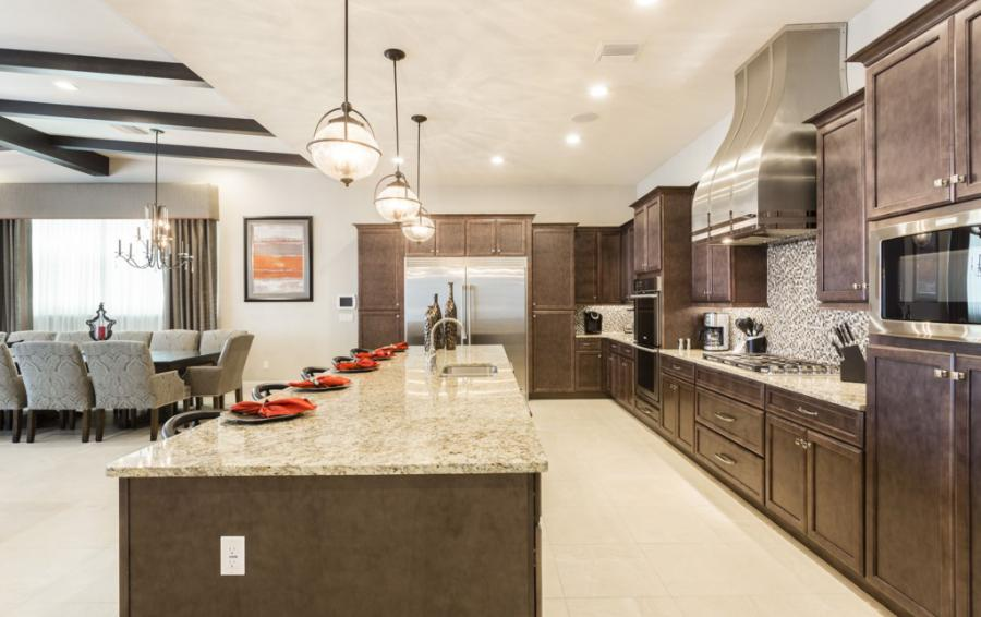 Kitchen-Professional Appliances - Treasure Hunt - 8 Bedroom Hidden Mickey Vacation Home - Homes4uu