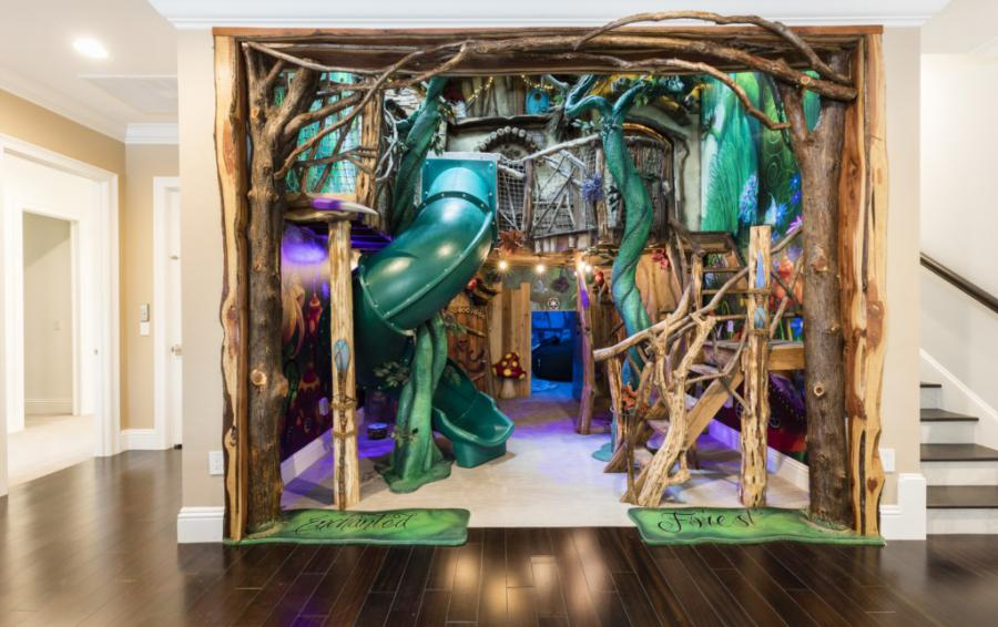 Playroom-Entrance into the Enchanted Forest - Steam Boat Willie's Castle - 8 Bedroom Disney Themed Vacation Home - Homes4uu