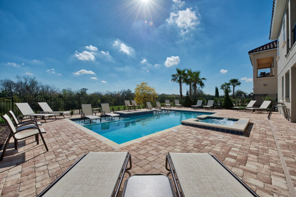 Pool Privacy - 13 Bedroom Luxury Resort Orlando Vacation Home - Homes4uu