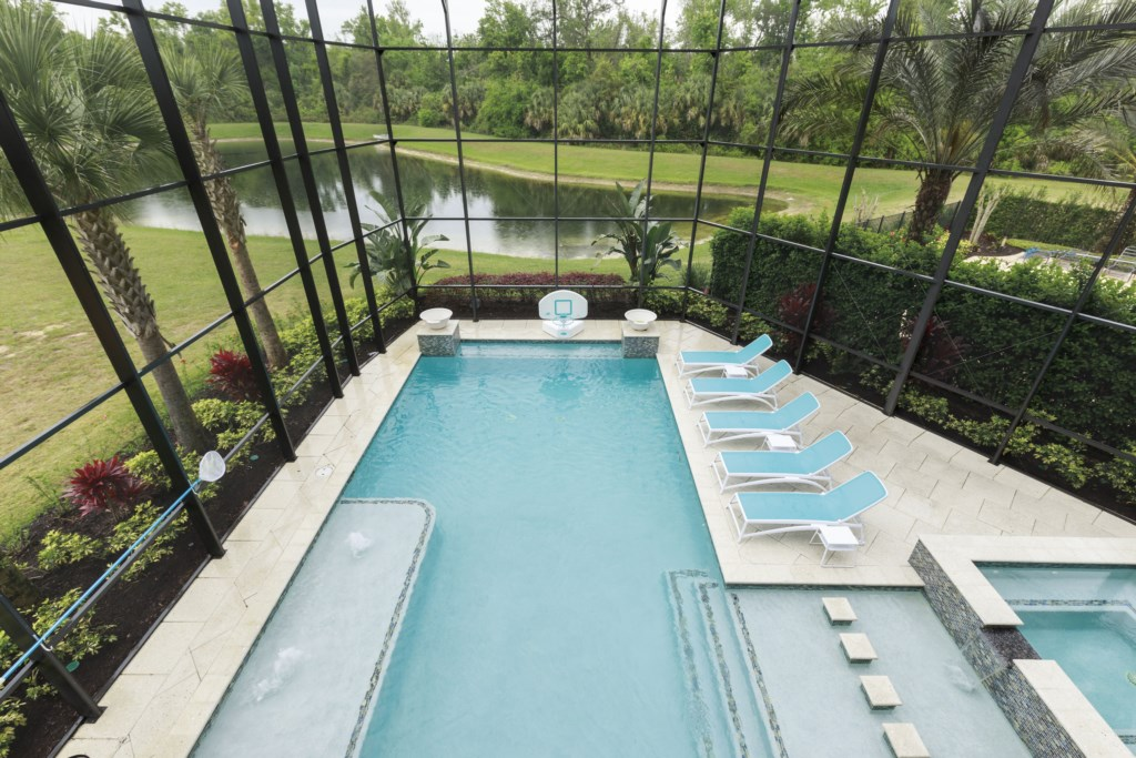 Private pool - Hopesail - 10 Bedroom Reunion Resort Vacation Home - Homes4uu