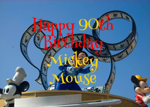 Happy 90th Birthday Mickey Mouse