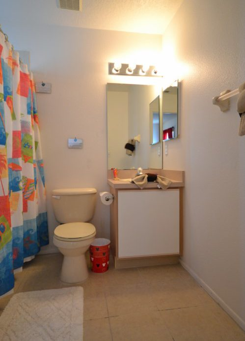 Family Bathroom - Lake View Villa - 5 Bedroom Disney Area Resort Vacation Home - Homes4uu