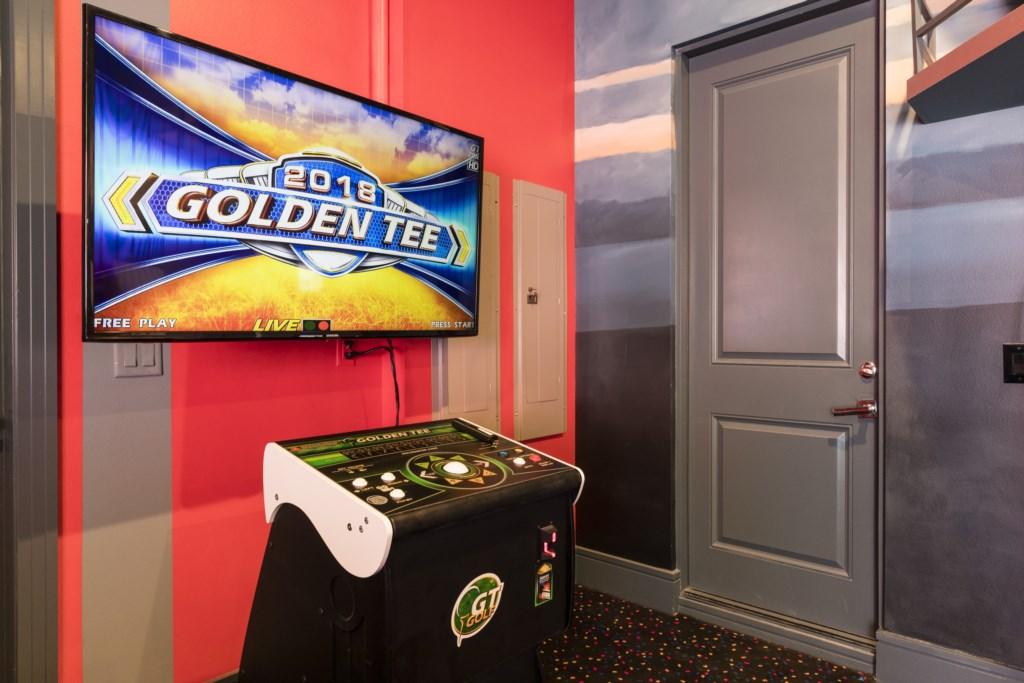 Goldentee Arcade Game - Captain's Chair - 9 Bedroom - Spectacular Destination With a Star Trek Theater Entertainment Center Vacation Home - Homes4uu