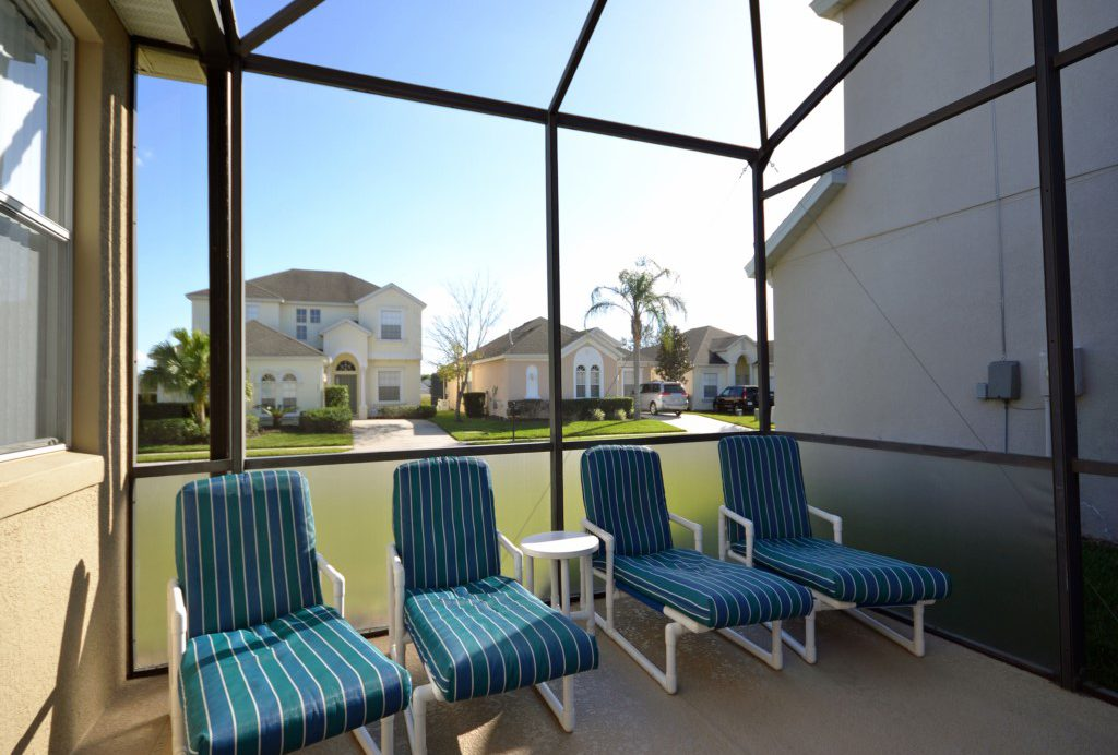 Lounge Chairs - Minniehaha Villa - 4 Bedroom Orlando Area Resort Vacation Home - Homes4uu