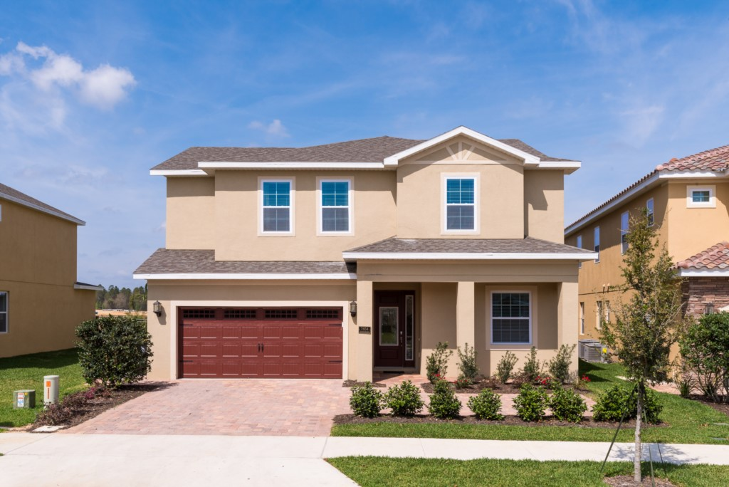 Front of the Home - Adriatic - 10 Bedroom Orlando Vacation Home - Homes4uu