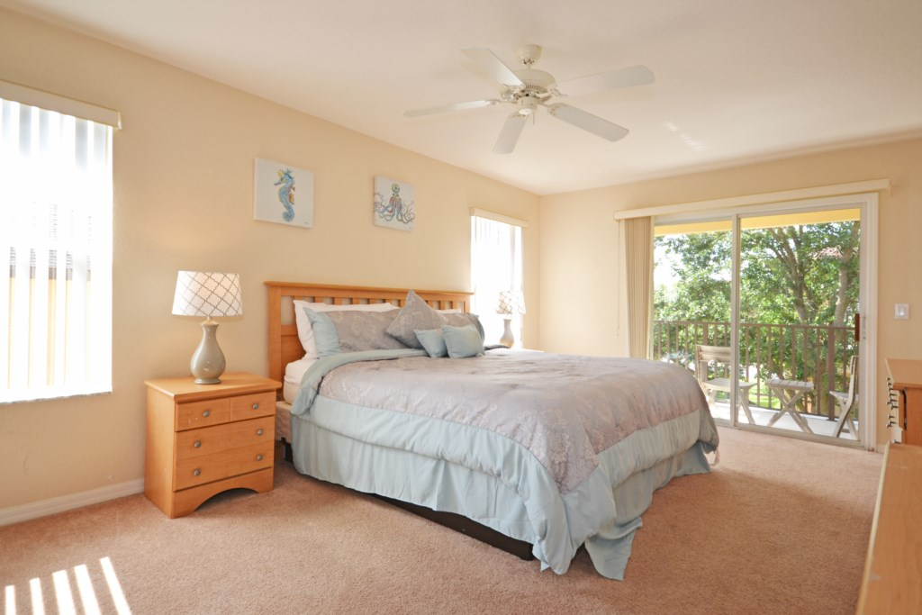 Bedroom -2 King Bed - Tequila Sunrise - 4 Bedroom Disney Area Vacation Home - Homes4uu