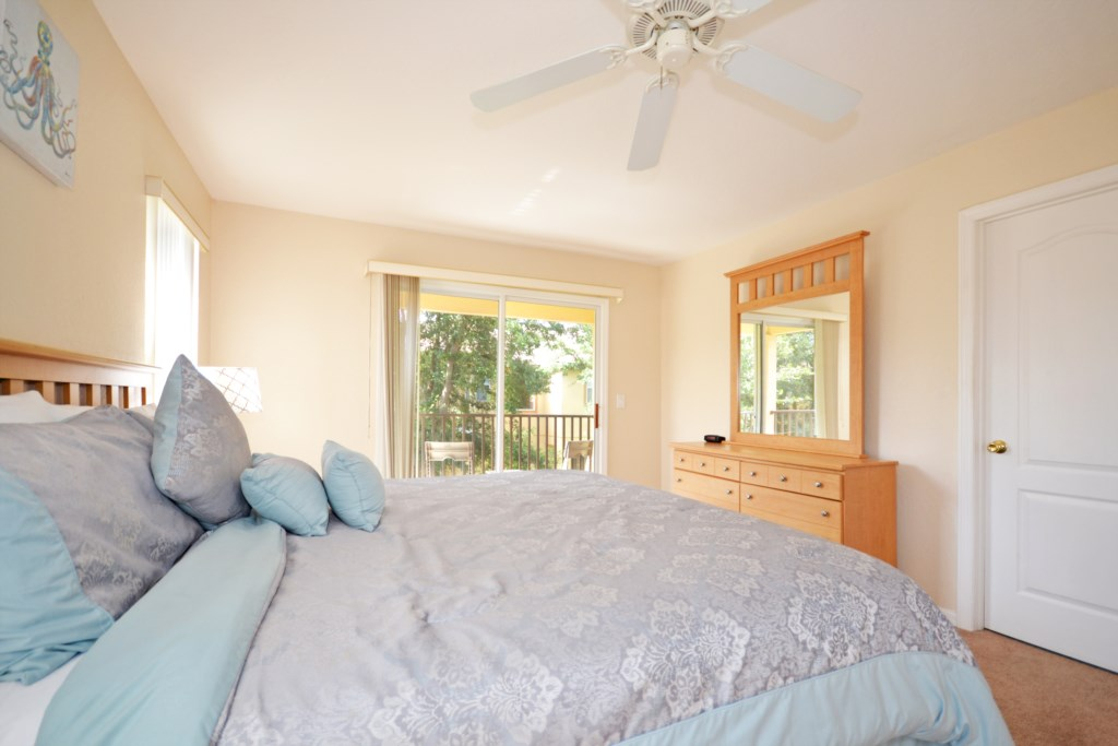 Bedroom -2 King Size Bed - Tequila Sunrise - 4 Bedroom Disney Area Vacation Home - Homes4uu