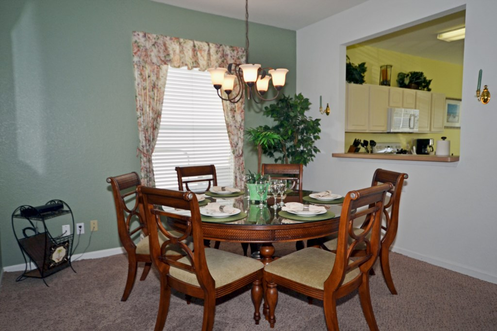 Dining For Six - Chateau Soleil - 5 Bedroom - Disney Area Private Pool Home - Homes4uu