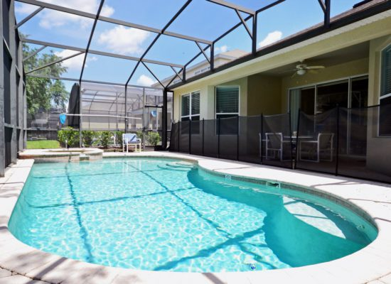 Private Pool - Chateau Soleil - 5 Bedroom - Disney Area Private Pool Home - Homes4uu
