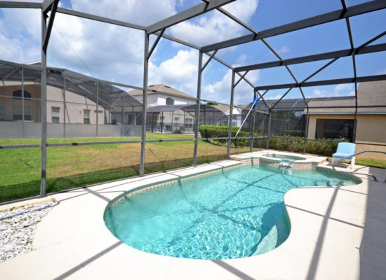 Private Pool - St. Kitts - 6 Bedroom - Disney Area Family Vacation Home With Private Pool - Homes4uu
