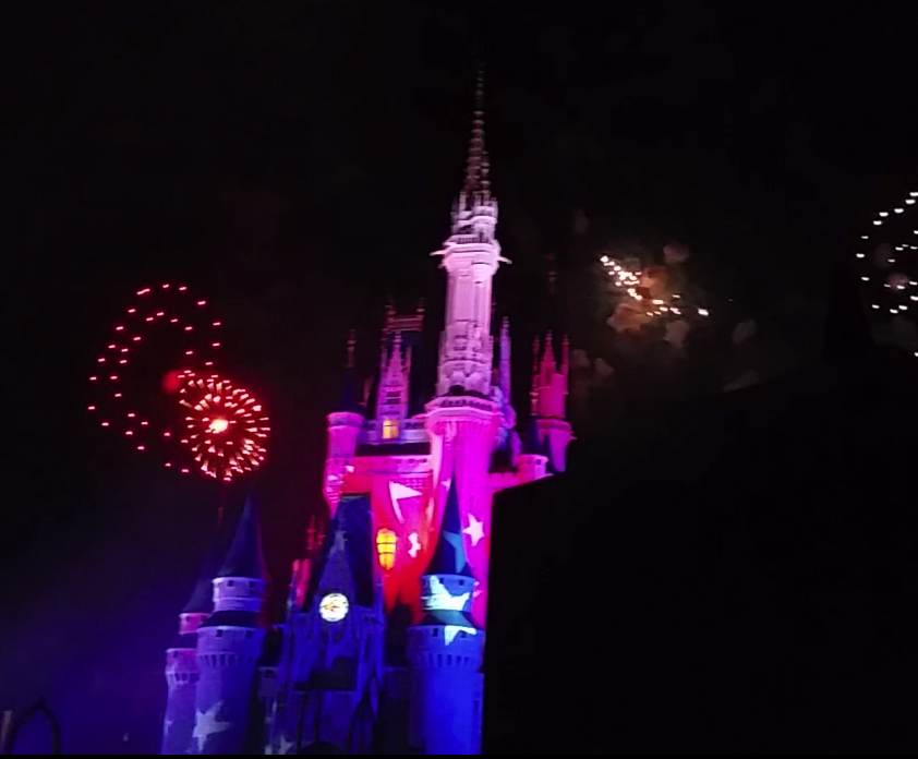 The Fourth of July at Disney Fireworks