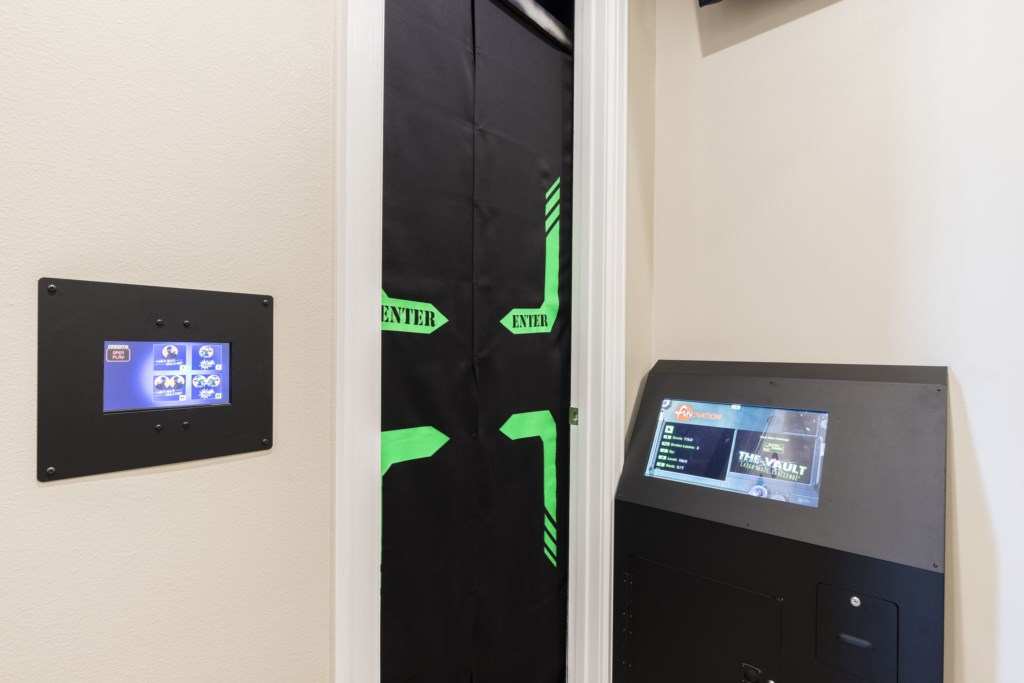 Laser Tag Game Entrance - Pirate's Utopia - 10 Bedroom Disnay Area Custom MansionVacation Home - Homes4uu