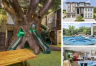 Photo Collage 10 Bedroom Vacation Mansion- Homes4uu