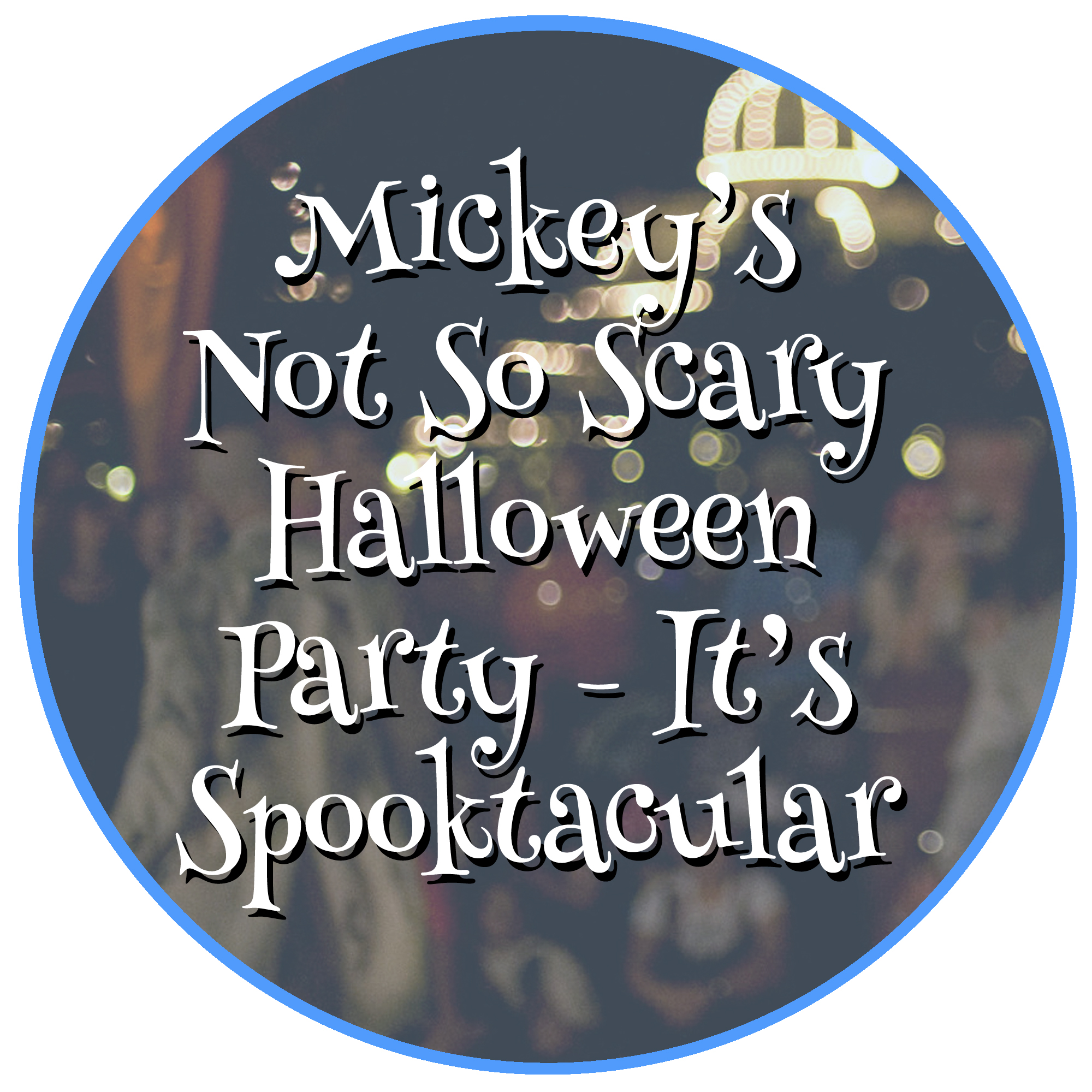 Mickeys no so scary Halloween Party